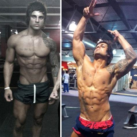 zyzz bodybuilder jeff seid vs aziz shavershian zyzz comparison