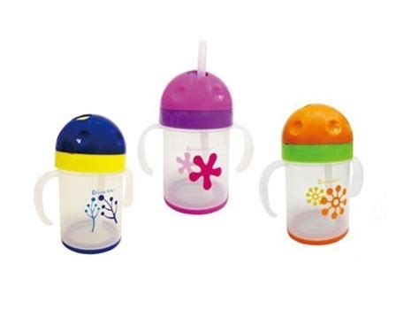 Baru Lucky Baby Twistee Straw Cup Botol Minum Bayi lucky baby twistee straw cup