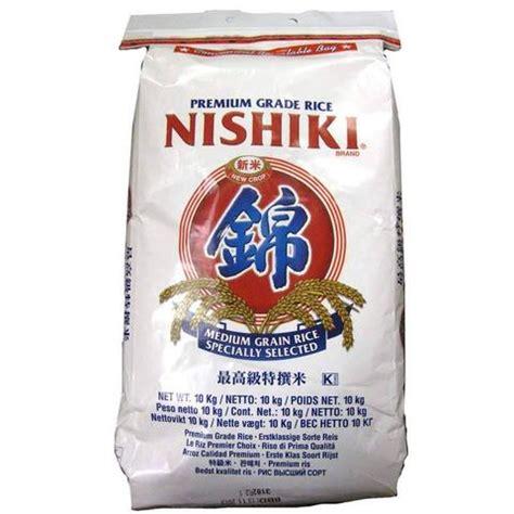 X Kemasan 1 Kg nishiki premium rice 10 kg sushi rice sushisushi