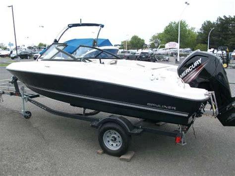 bowrider boats weight bayliner bowrider new170 bowrider boattest