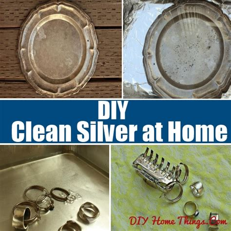 ways to clean silver at home diy home things
