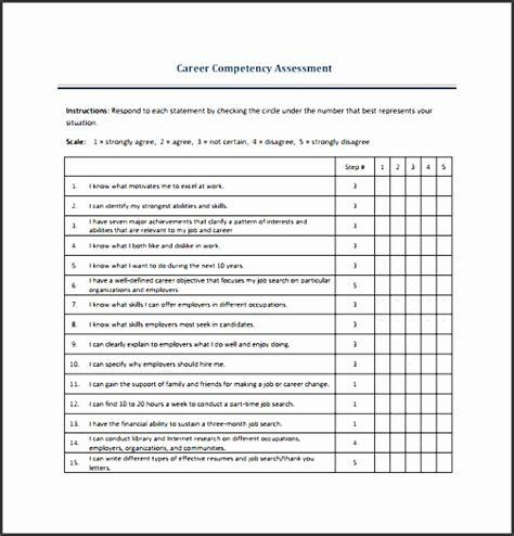 skills assessment template 4 skills assessment format sletemplatess
