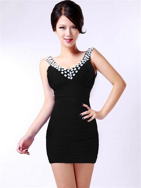 D3908 Mini Dress C O L Z A Size M Original Branded Import Murah sleeveless rhinestone stretch mini dress n9078