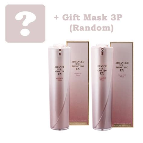 Nature Republic Cell Boosting Watery Sle 1 Pcs naturerepublic advanced cell boosting ex 2pcs gift nature republic sets shopping sale