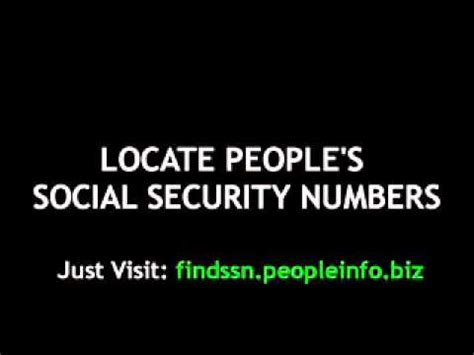 Social Security Number Lookup Free Search By Social Security Number For Free