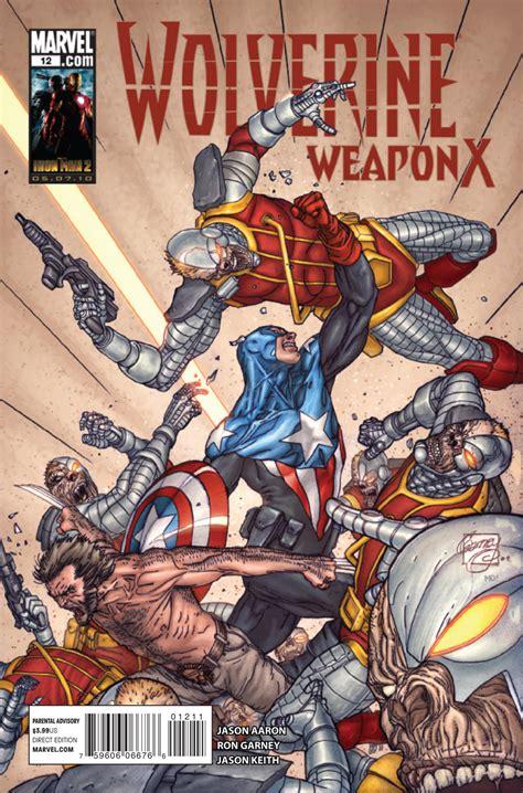 Komik Cabutan Amazing Weapon Vol 12 wolverine weapon x vol 1 12 marvel database fandom