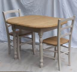 Small Dining Table And Chairs Uk Painted Small Extending Table 4 Painted Bistro Chairs Furniture4yourhome