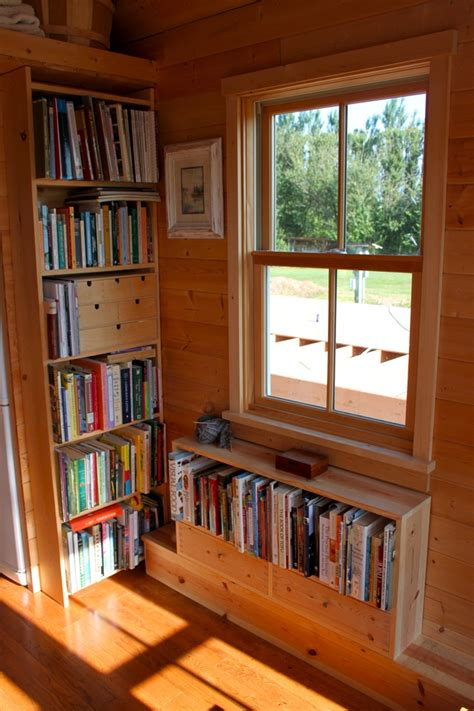 tiny house windows tiny house window bookcases freeshare rolling bungalow pinterest