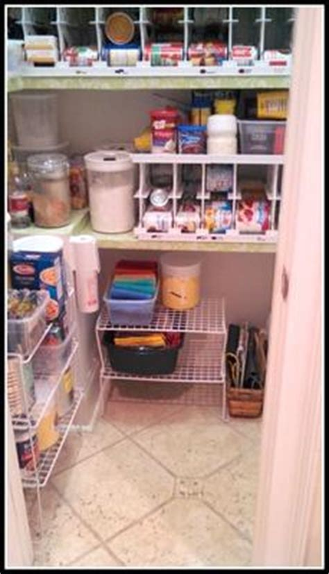 Pantry Floor Organizer Organizing A Pantry Of Fame Before After Pictures
