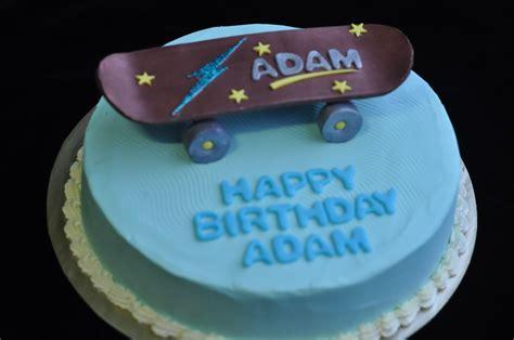 birthday cake skateboard cakes decoration ideas little birthday cakes