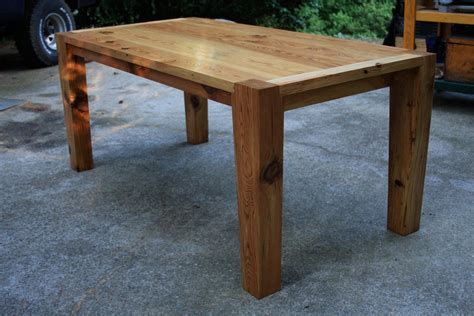 modern pine kitchen table by robjones