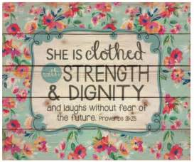 She is clothed with strength and dignity soulful creations