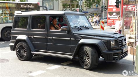Farid Bangs Auto by Mercedes Mansory Gronos 15 August 2015 Autogespot