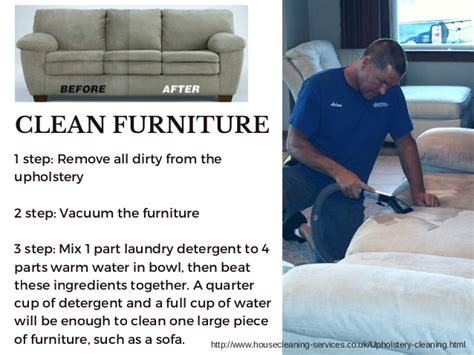 How To Clean Upholstered Furniture London
