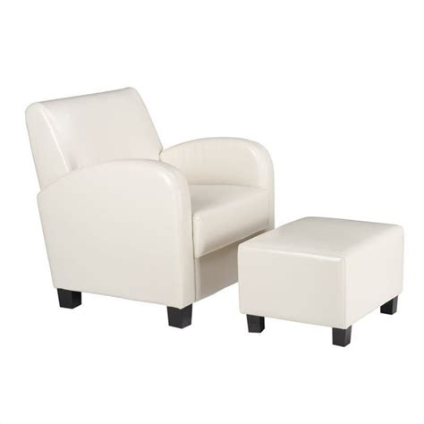 office chair ottoman office star metro w ottoman cream faux leather accent