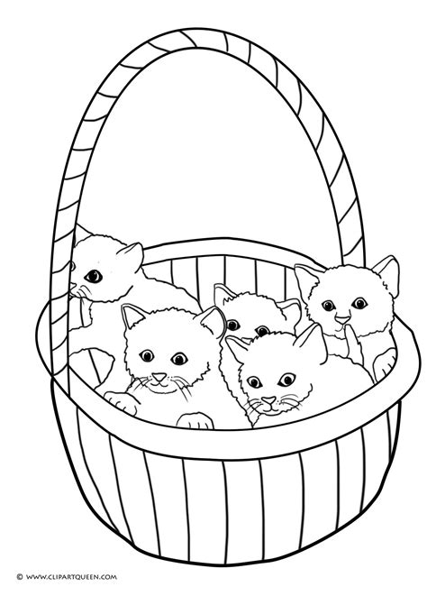 easter cats kittens coloring book books cat coloring pages