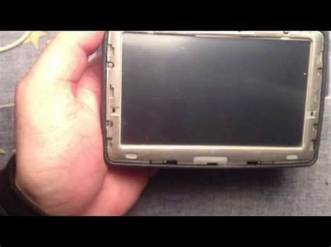 Tutorial Tomtom One Xl | how to open disassemble n14644 tomtom one canada 310