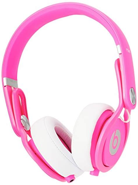 Headphone Beats Pink beats by dre mixr on ear headphone color pink