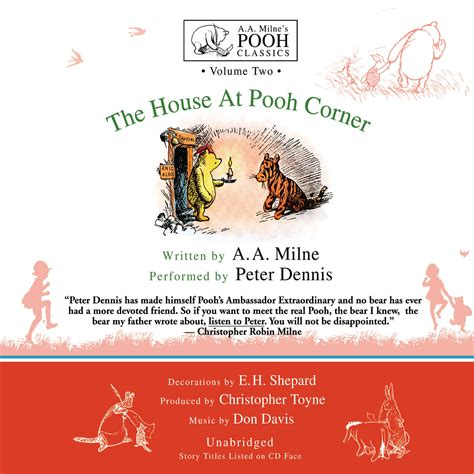 Novel Grafis The House At Pooh Corner A A Milne the house at pooh corner audiobook by a a milne for just 5 95