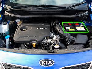 kia car battery location abs batteries