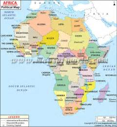 Countries Of Africa Map by Africa Maps Mr Howard S World Geography