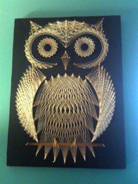 String Owl - meet my owl string is is never boring here