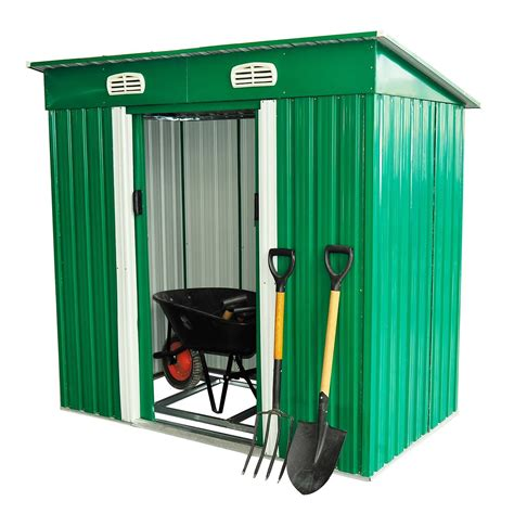 metal garden tool storage shed ideal home show shop
