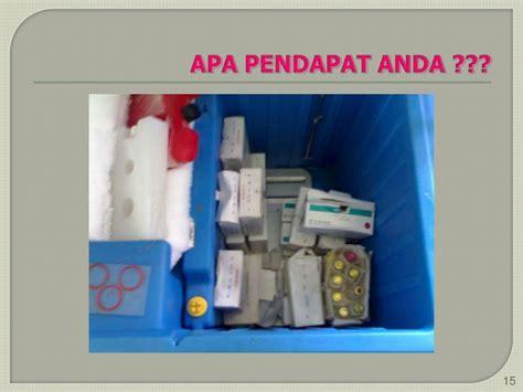 Termometer Vaksin manajemen logistik imunisasi