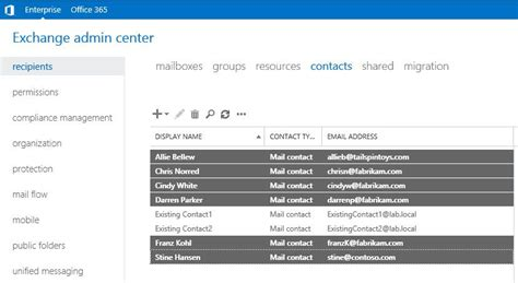 Office 365 Mail Powershell Exchange And Office 365 Mail Contact Import Using Powershell