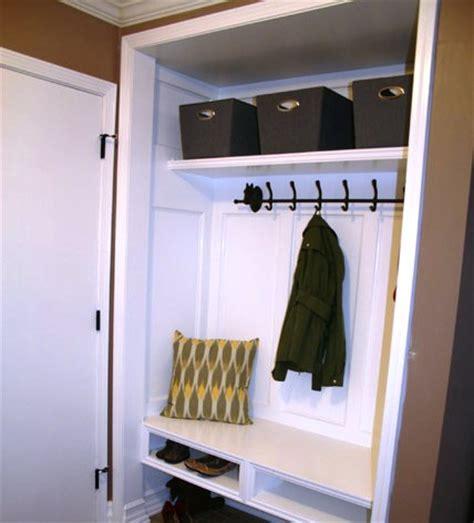 Closet Mudroom Ideas by Closet Mudroom Diy Home Closet Ideas