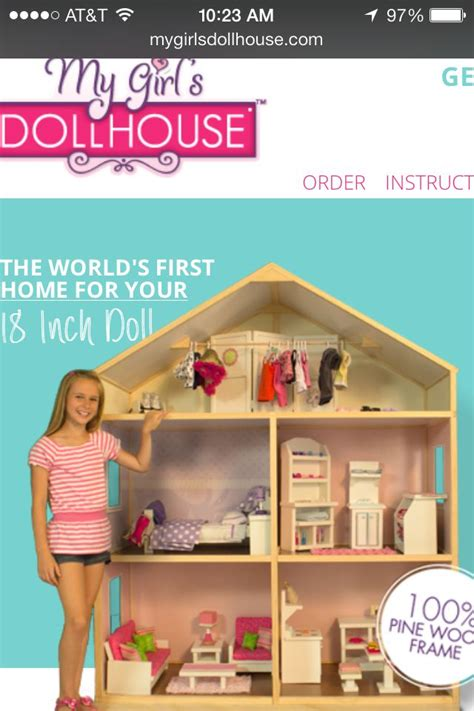 my girl doll house my girl s dollhouse american girl doll house inspiration pinterest