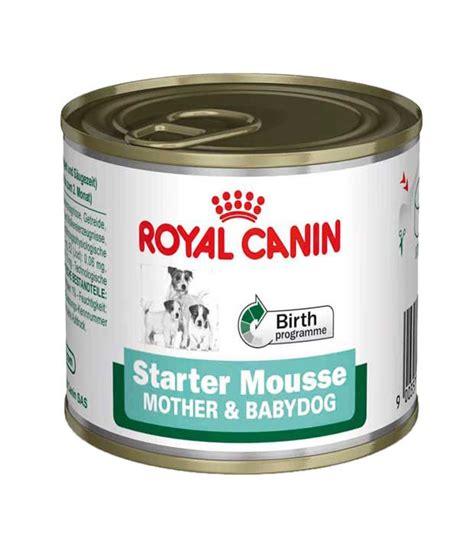 Dogfood Royal Canin Starter Babydog Makanan 2 royal canin starter mousse babydog formula canned food 195gms pack of 2 buy