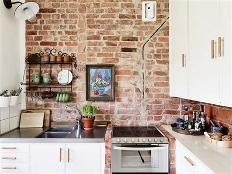 Brick Kitchen Design 28 exposed brick wall kitchen design ideas home tweaks