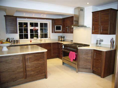 Handmade Kitchens Kent - walnut inframed slab kitchen bromley handmade kitchens kent