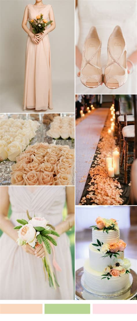 25 wedding color combination ideas 2016 2017 and bridesmaid dresses trends to rock your big