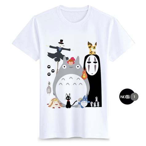 Spirited Away No T Shirt by Anime Unisex Totoro T Shirt For T Shirts