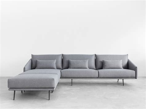 Sofa With Chaise Longue by Costura Sofa With Chaise Longue Costura Collection By Stua