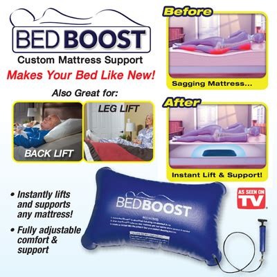Bed Boost bed boost support pillow from collections etc