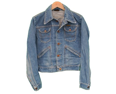Vintage Denim vintage wrangler denim jacket jean womens uk 10 retruly