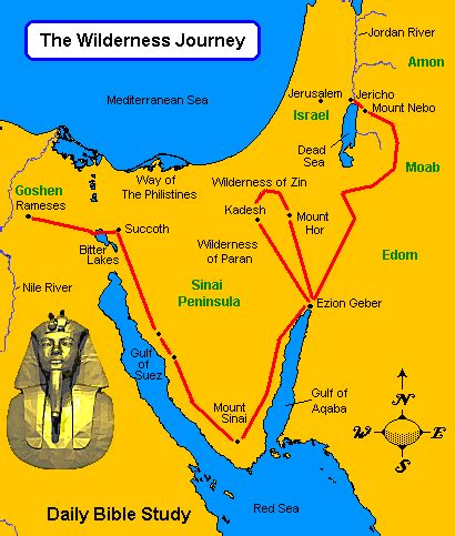 Journeys Out Of The the israelites journey to canaan from the inside out