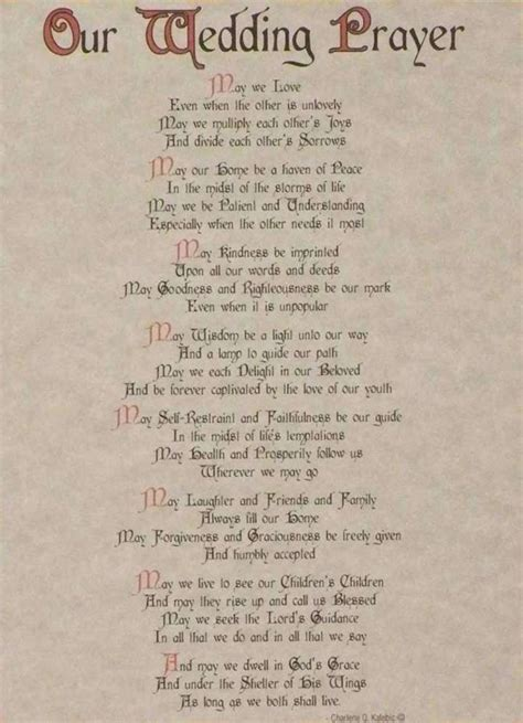 Apache Wedding Blessing Broken Arrow by Letter To On Wedding Day Wedding Prayers And