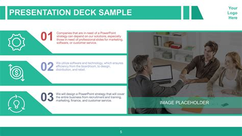 presentation slide deck corporate business variety powerpoint slidestore