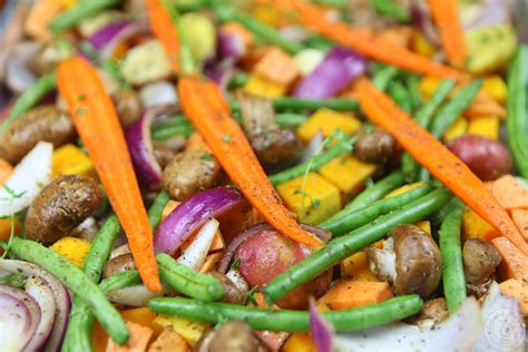 fall vegetables roasted fall vegetables colorful recipes