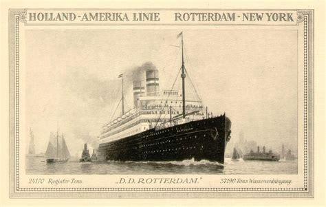 schip holland amerika lijn in rotterdam rotterdam schip 1908 wikipedia