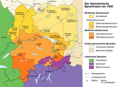 map of germany in german language a reworking of german language classification part 3