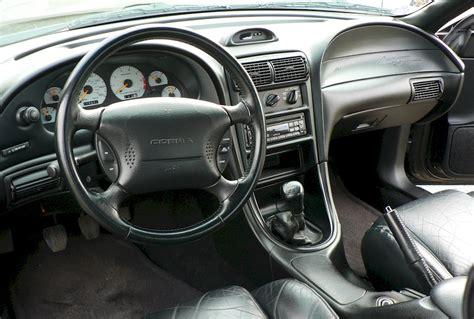 black 1995 ford mustang svt cobra coupe mustangattitude