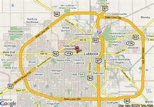 map of staybridge suites lubbock lubbock