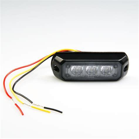 small led strobe lights vehicle led mini strobe light w built in controller