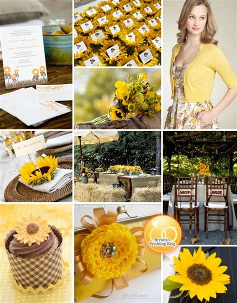 hawaiian island wedding planners sunflower wedding theme