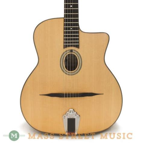 swing acoustic guitar paris swing gg 39 with oval soundhole mass street